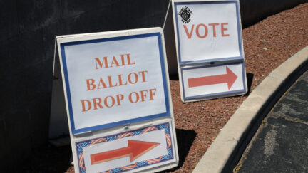 mail in ballot drop off voting