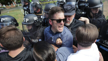 Richard Spencer at Charlottesville Unite the Right Rally