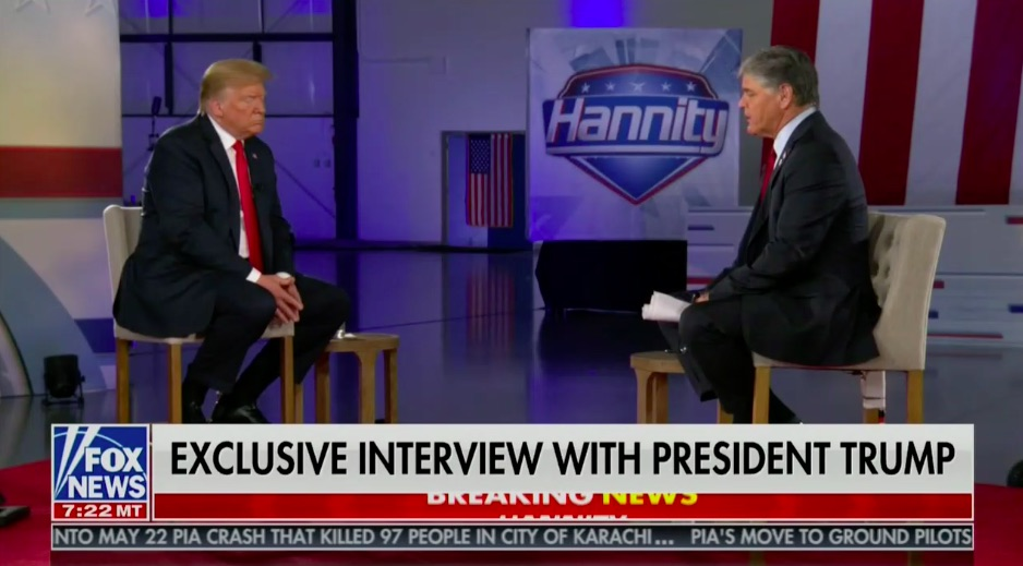 Hannity Trump Town Hall Scores Top Ratings In All Of Tv