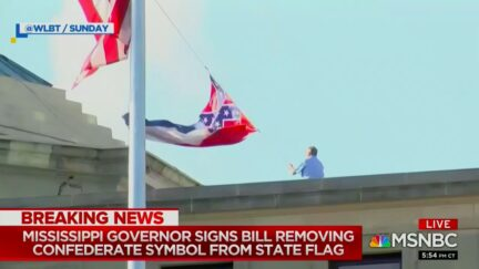MS Governor Tate Reeves Signs Law Removing Confederate Symbol from State Flag