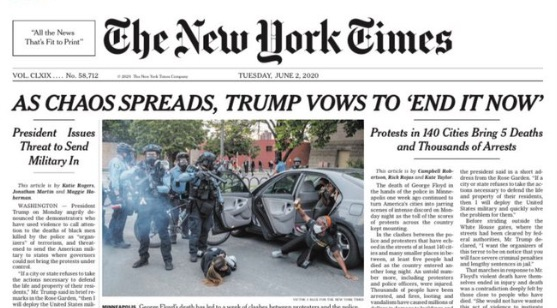 NYT Hounded Over Credulous Trump Headline