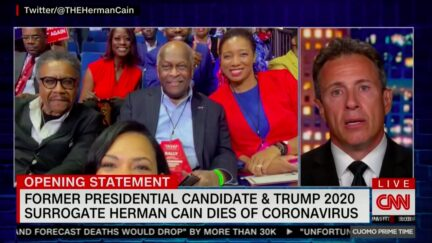Chris Cuomo Slams Trump for Holding Rally Attended by Covid Victim Herman Cain