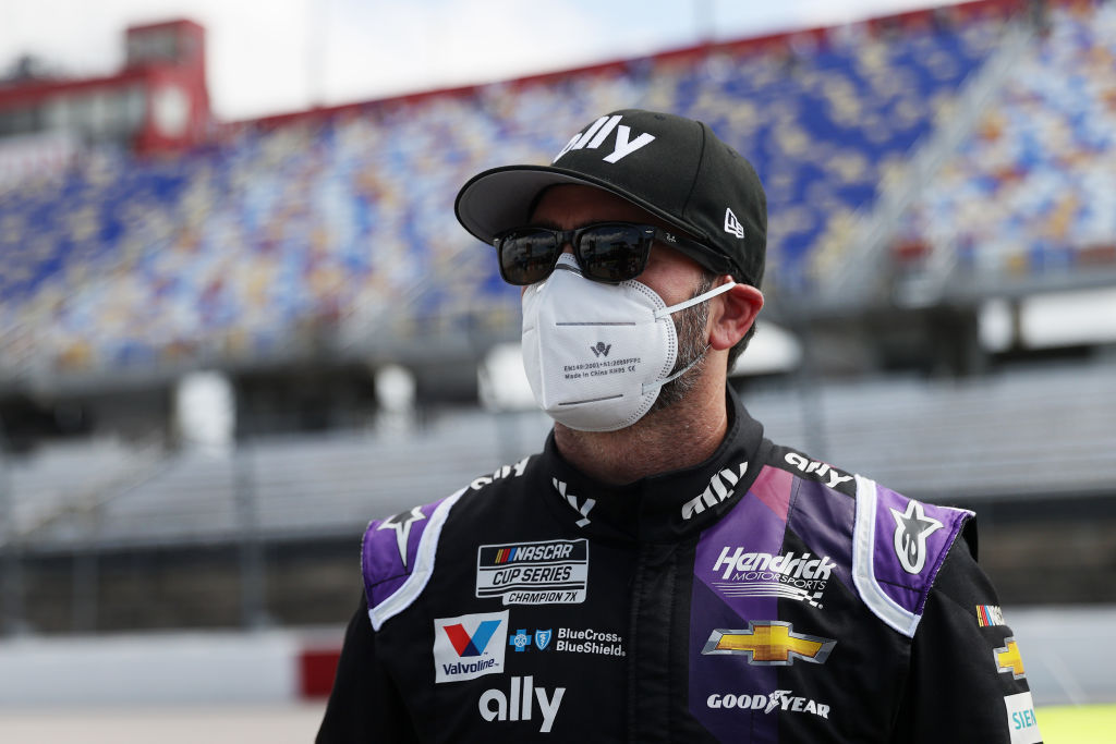 Jimmie Johnson becomes first NASCAR driver to contract COVID-19