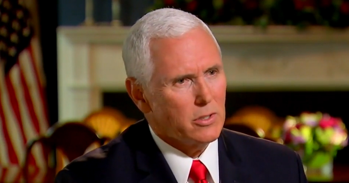 Why Pence Delayed AZ Trip