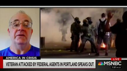 Navy Vet from Viral Portland Protest Video Speaks Out