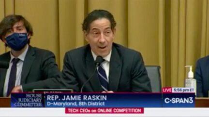 Rep. Jamie Raskin Mocks GOP's 'Endless Whining' Over Alleged Online Censorship