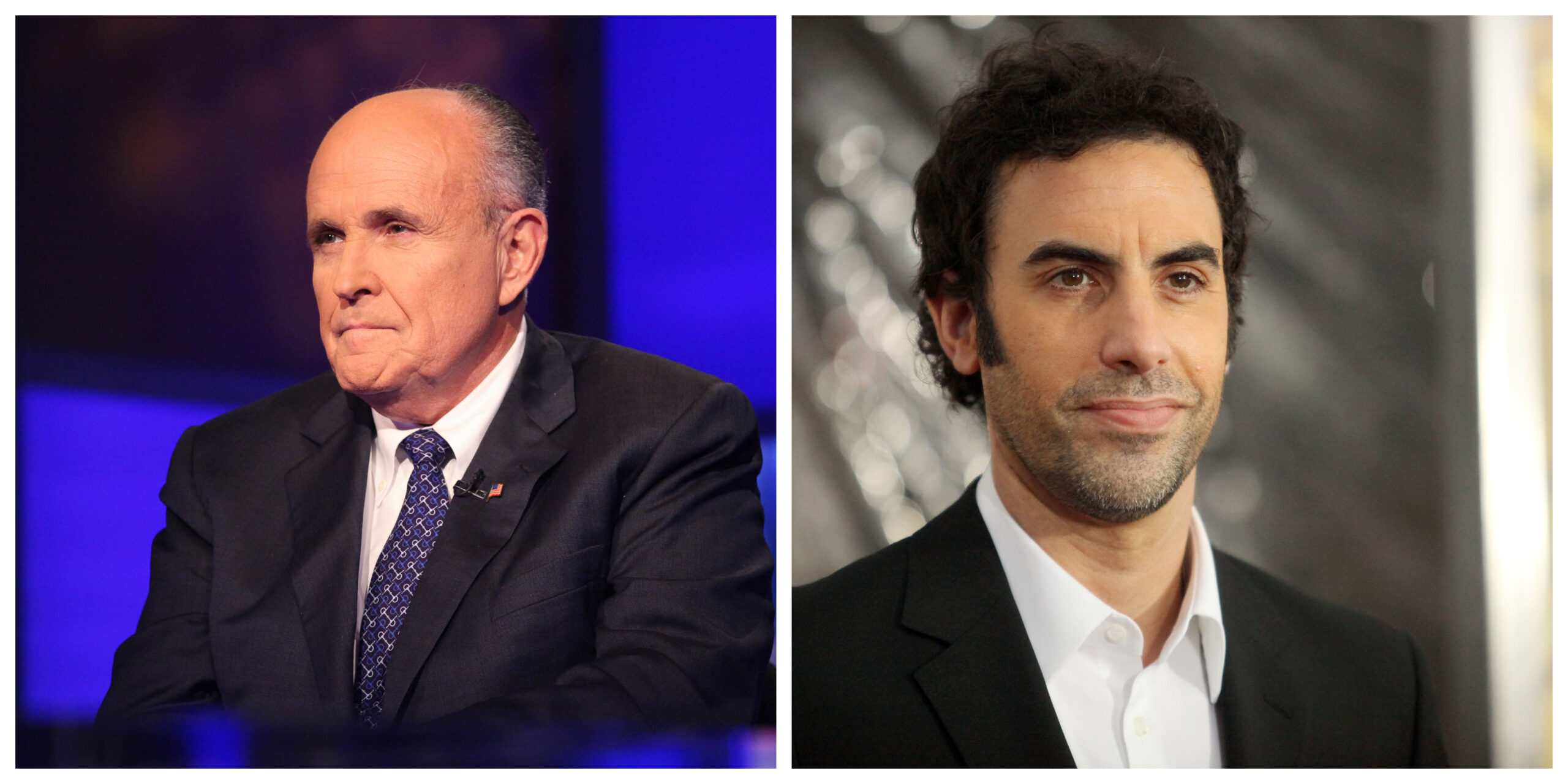 Rudy Giuliani calls the cops on Sacha Baron Cohen over prank interview