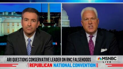 Matt Schlapp's Unintentionally Hilarious Whataboutism Over Trump Campaign's Felonious Record