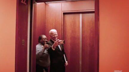 'NYT' Security Guard Set to Nominate Joe Biden for President