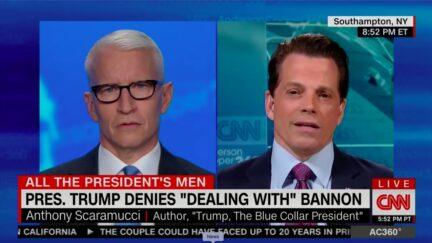 Scaramucci Says Bannon's Arrest Will 'Put a Dent' in Trump's White Nationalist Agenda