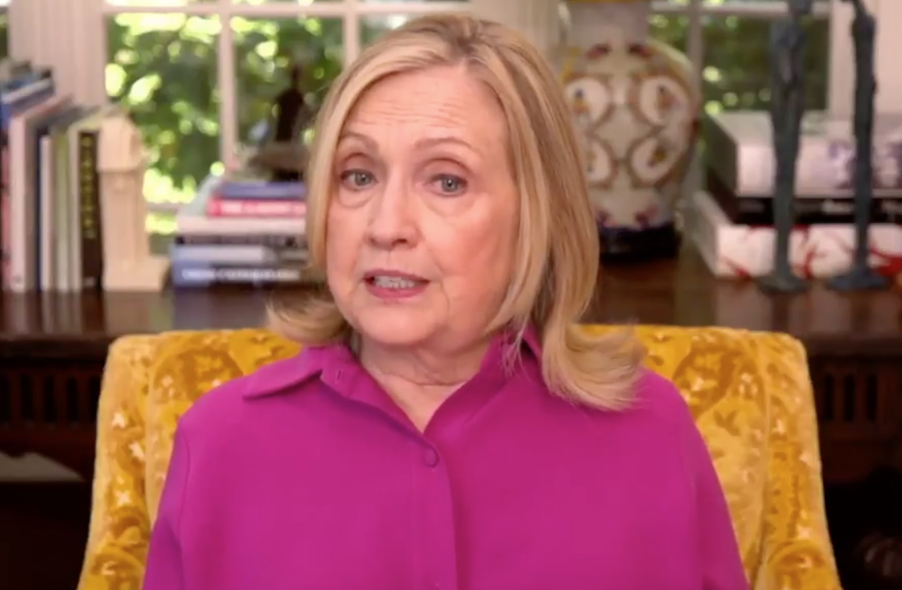 Clinton: Biden 'Should Not Concede Under Any Circumstances'