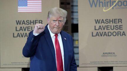 Trump Speaking Scott Olson/Getty Images