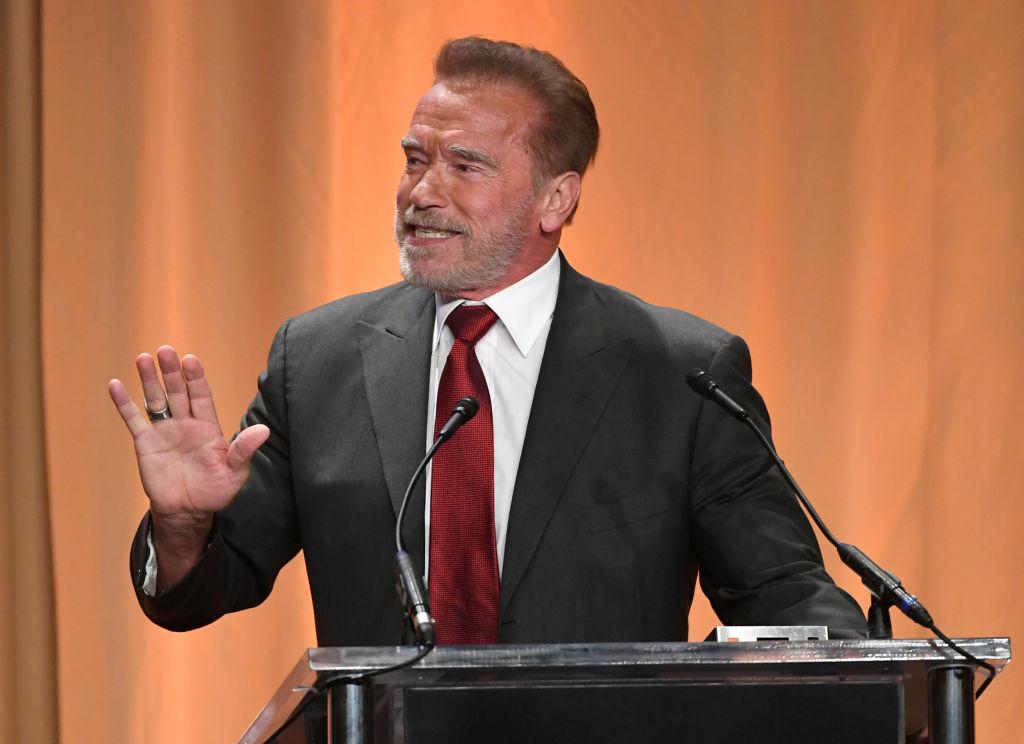 Arnold Schwarzenegger Presidential Debate