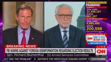 Sen. Richard Blumenthal Calls for Declassifying Intel Reports on 2020 Russian Election Meddling