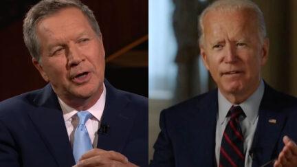 John Kasich and Joe Biden