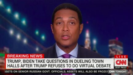 Don Lemon Calls Out Trump's 'Preposterous' Refusal to Reveal Last Negative Covid Test