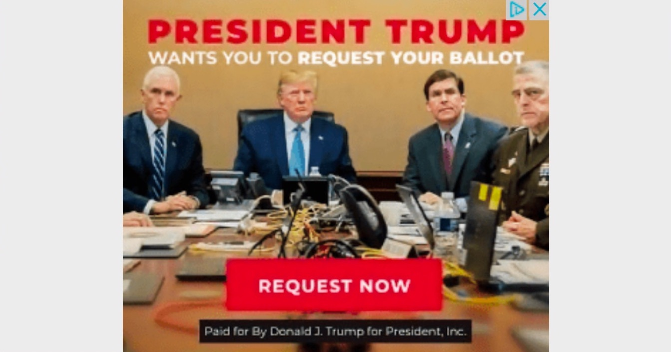 General Mark Milley Improperly Included in Online Trump Ad, Violating Military's Longstanding Code of Political Neutrality