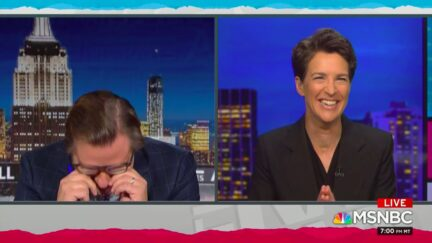 Hayes, Maddow Crack Each Other Up Over, Uh, Weird Cable News Story