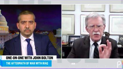 Mehdi Hasan Grills John Bolton on Disastrous Iraq War