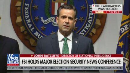 FBI Election Warning