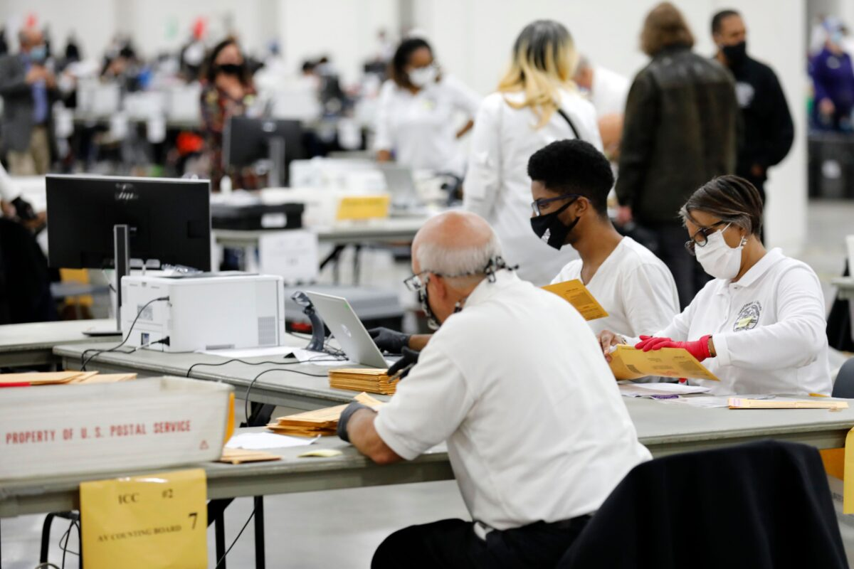 Pa. almost  finished with election counting - no recount expected