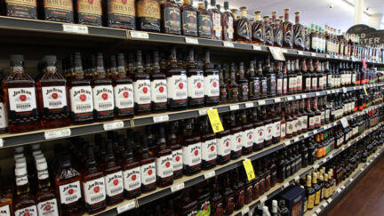 bourbon alcohol liquor bottles liquor store