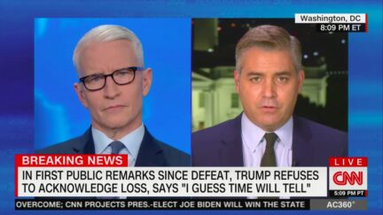 Jim Acosta Notes That, After Jan. 20, Trump Just 'Another Crackpot on the Internet'