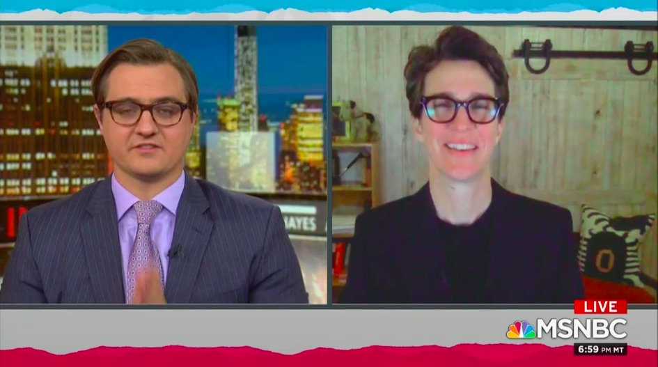 Rachel Maddow Reveals COVID Nearly Killed Her Partner of 21 Years