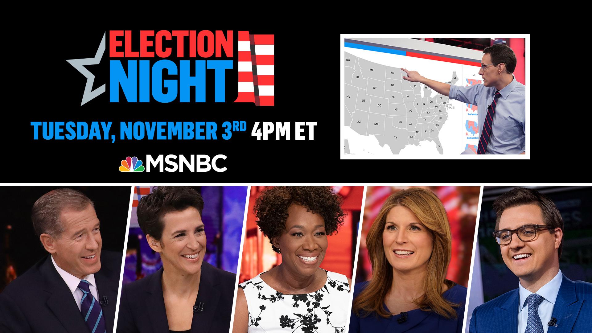MSNBC Election Night 2020
