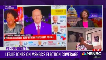 Leslie Jones, Joy Reid Almos Fall Out Laughing Over 'SNL' Comedian's Wild MSNBC Riffs