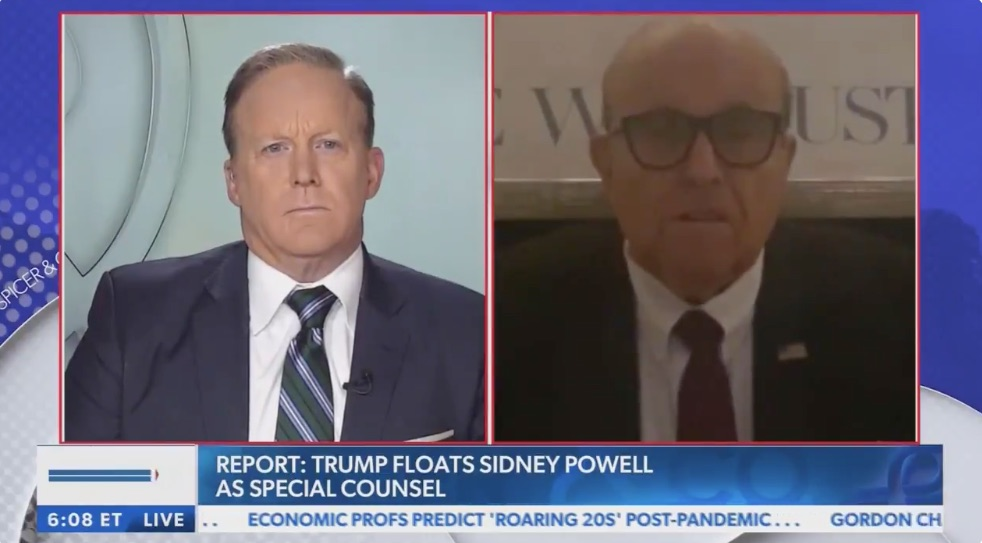 Rudy Giuliani Disavows Sidney Powell as Part of Trump's Legal Team