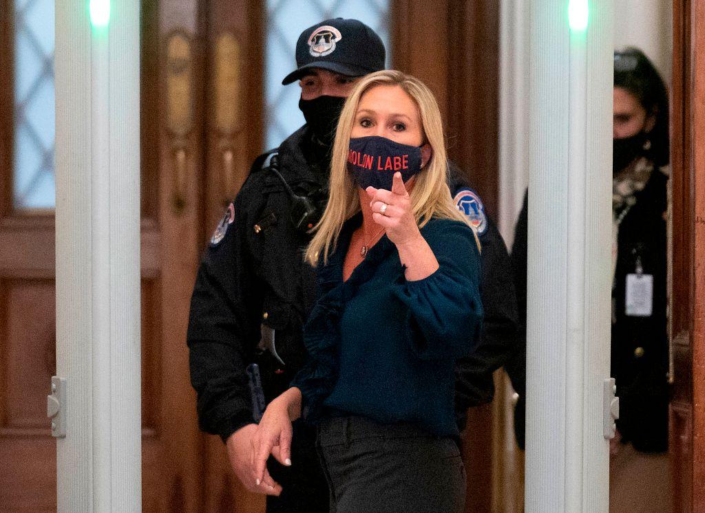 Video resurfaces of Marjorie Taylor Greene harassing Parkland survivor