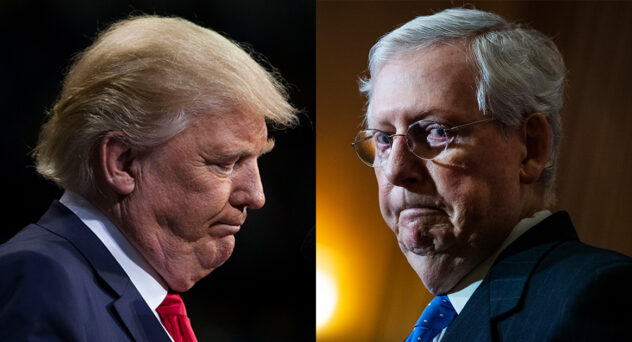 Trump Trying to Oust McConnell as Senate Leader