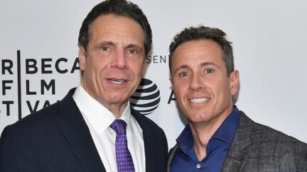 Andrew and Chris Cuomo