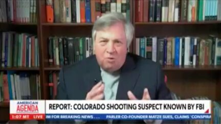Dick Morris Fearmongers Link to Biden Ending Muslim Travel Ban to Boulder Shooter