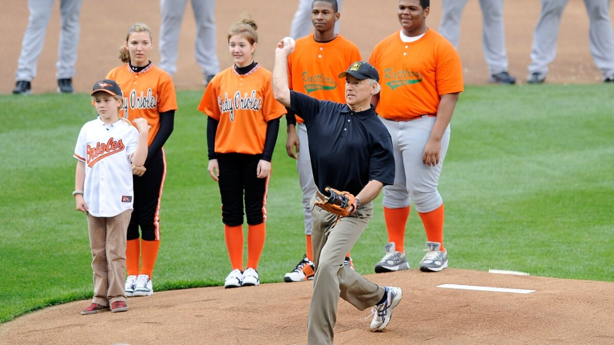 Here's How Joe Biden Did Last Time He Threw Out an Opening Day First Pitch