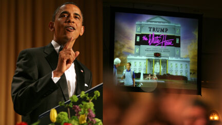 Obama at the White House Correspondents' Dinner 2011Post image