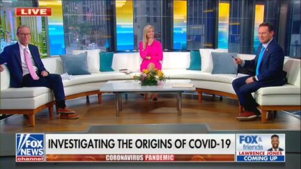 FOX and Friends discussing Wuhan Lab Leak