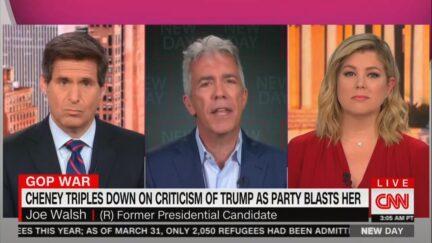 Joe Walsh on CNN's New Day