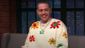 pete davidson on seth meyers