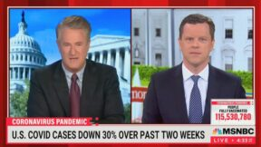 Joe Scarborough and Willie Geist Discuss Outdoor Covid Risks and CDC