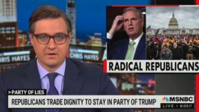 Chris Hayes slams Kevin McCarthy