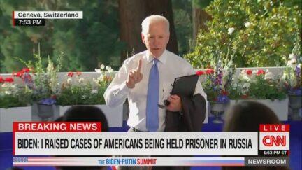 Joe Biden Chides Kaitlyn Collins