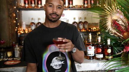 Michael B Jordan Rum Brand
