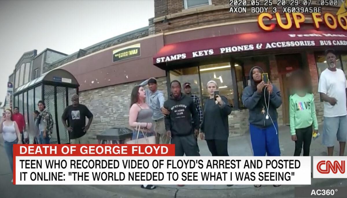 Teen who filmed George Floyd's murder given journalism award