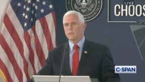 Mike Pence Speaks on January 6th at Reagan Library