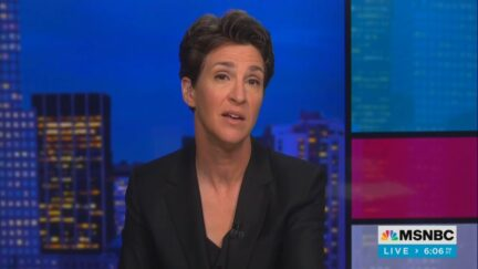 Rachel Maddow hosts The Rachel Maddow Show on MSNBCFeatured post image