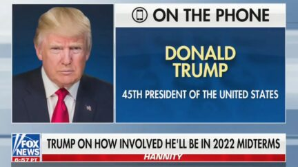 Trump on HannityFeatured post image