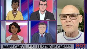 james carville on tooning out the news