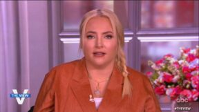 meghan mccain on the view